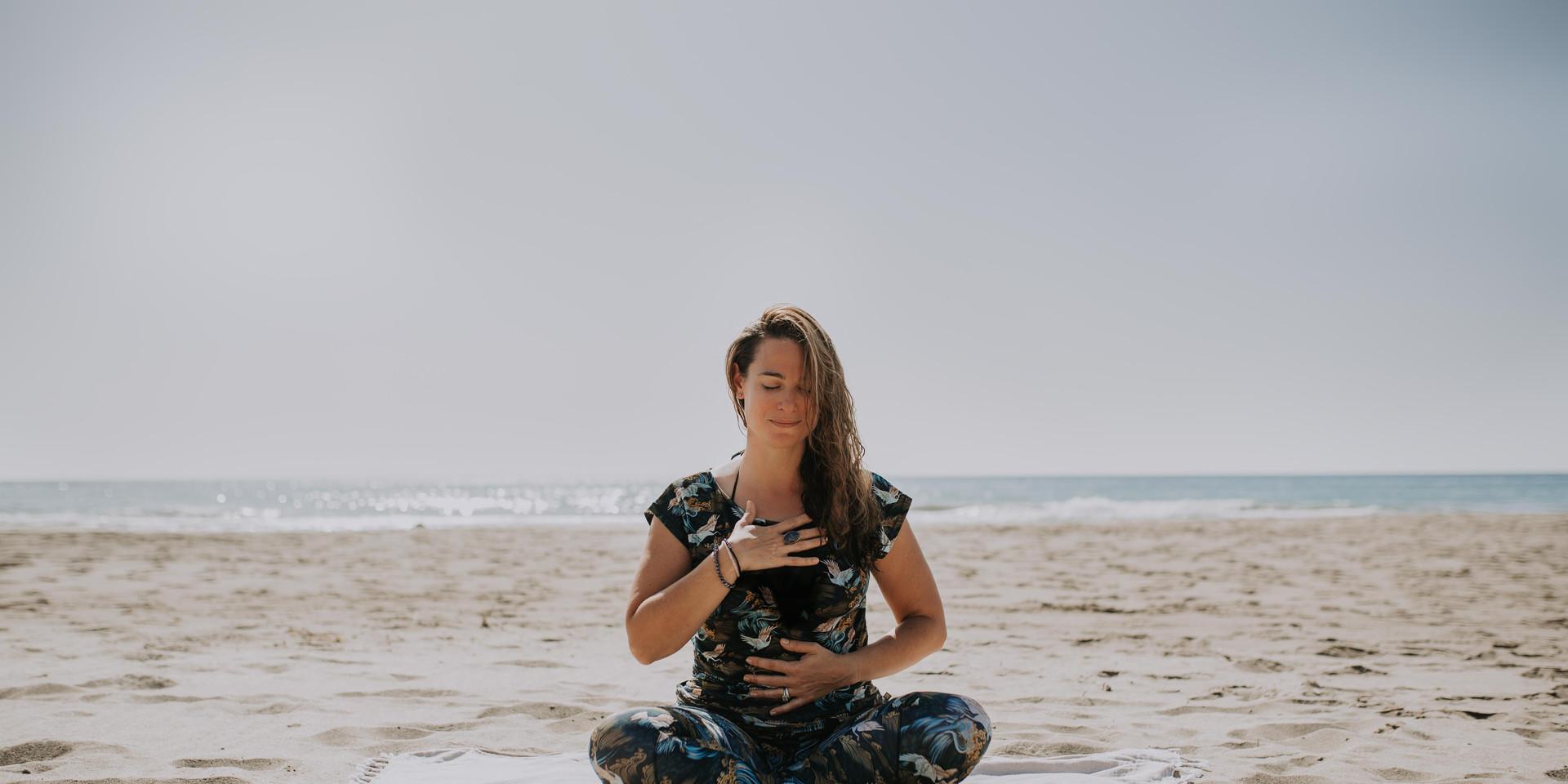 Yoga Beach Brand Photo Shoot