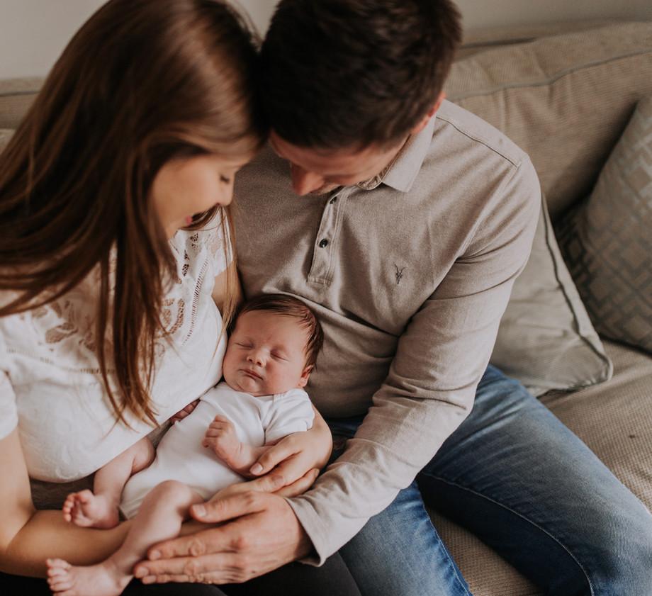 Newborn Baby Home Photoshoot