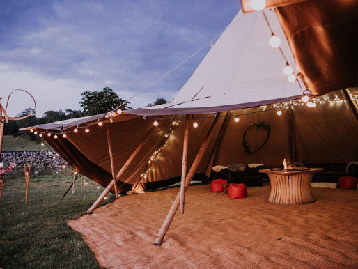Park House Barn Outdoor Wedding Fair in the Lake District