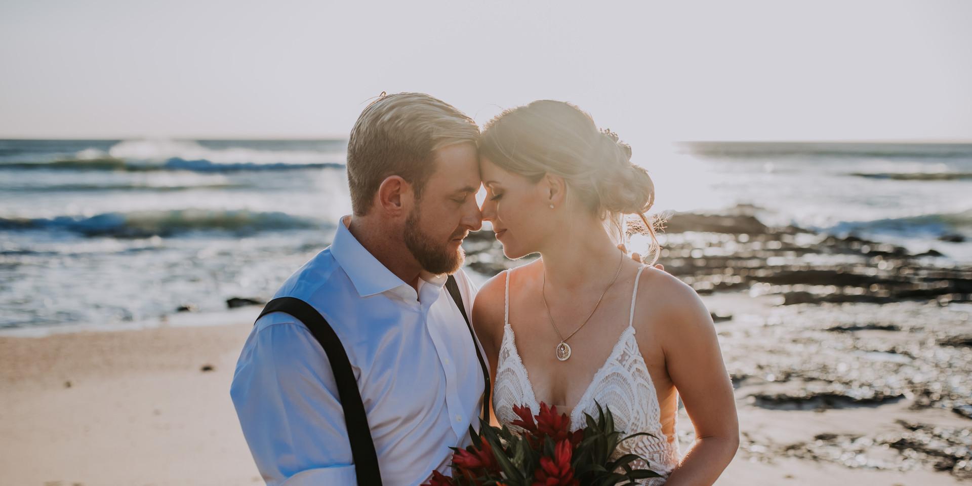 Beach Wedding at Sunset