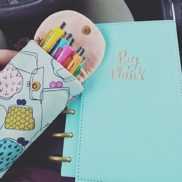 I love when things match unexpectedly 😍 #planneraddict #planning #heartsinghandmade