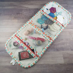 New #StashAndDash bags listed in my shop! I love those #artgalleryfabrics #icecreamcones I love how