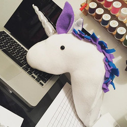 Another #Unicorn sent to it's #foreverhome 🦄🦄🦄 Custom colors available!