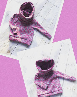 These little #ComfyCowlHoodies are ready to ship! Available in sizes 0-3 and 12-18 months! Link to s