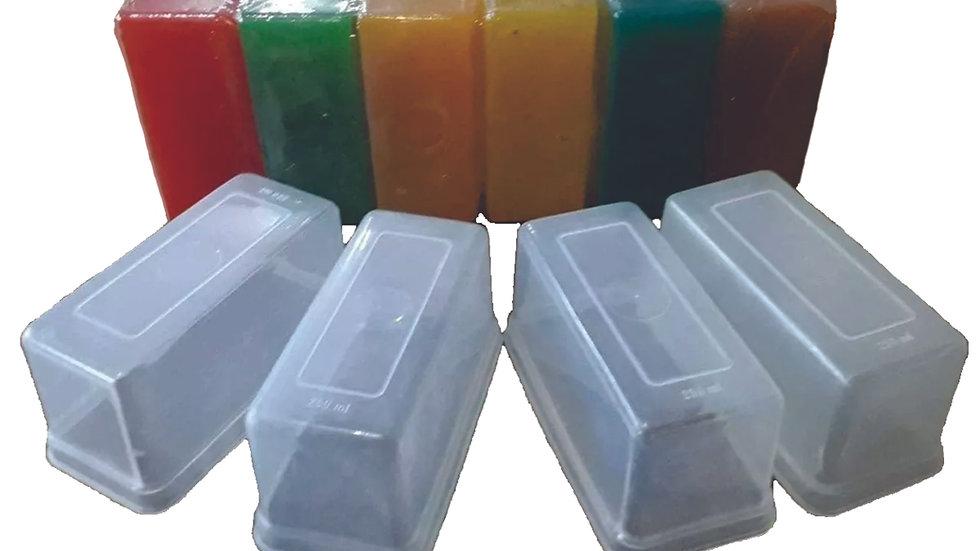 Forminhas Sabão e Sabonete 250 ml - Kit 40 unid