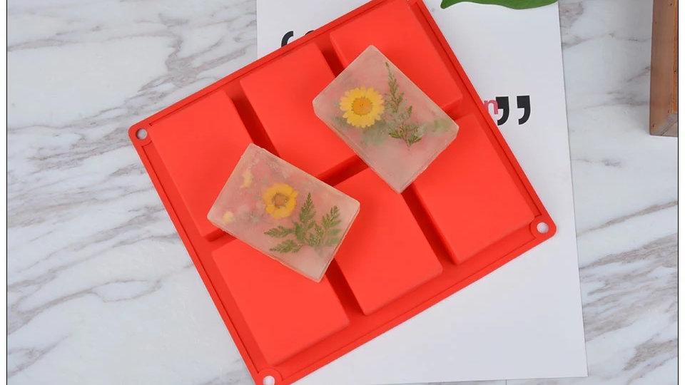Formas De Silicone Para Sabonete (molde Sabonete) Artesanal