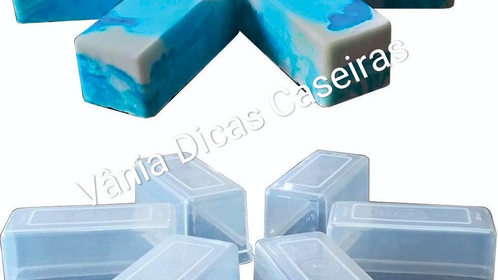 Forminhas Sabão e Sabonete 250 ml - Kit 5 unid