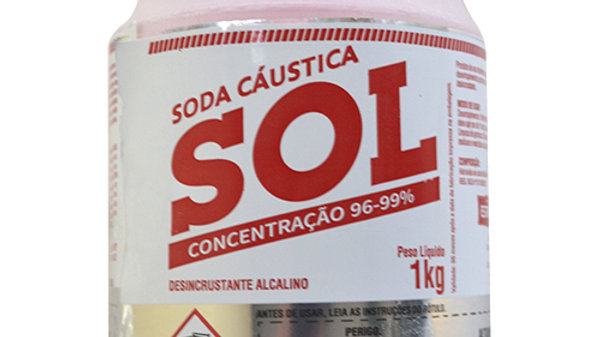 Soda Sol Escamas Para Sabão 96-99% Pureza