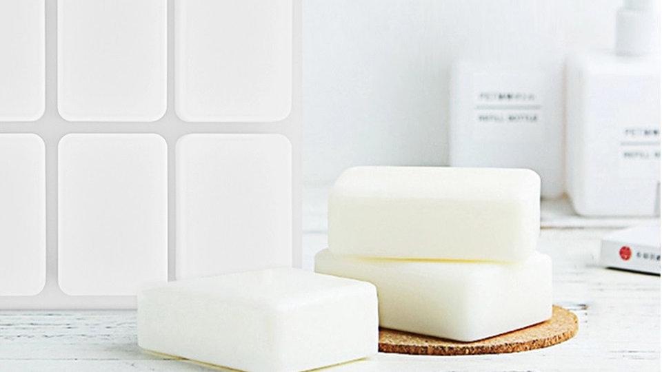 Forma Sabonete / Molde Sabonete Artesanal - Forma Silicone 8 Ret