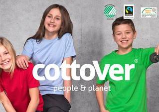 Cottover Artikel aus 100% Bio-Fairtrade-Baumwolle