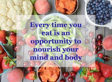 Nourish Yourself                                     by Jeanne Rosner, MD