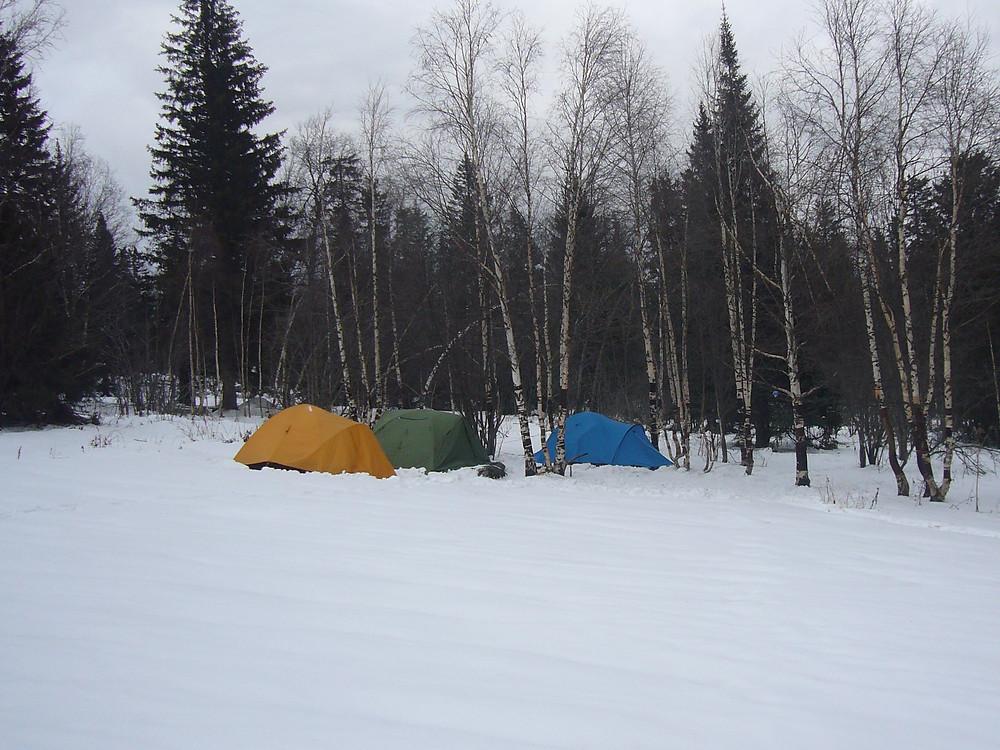 лагерь на скорую руку