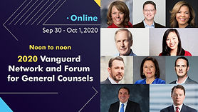 The Vanguard Forum for General Counsels, 2020