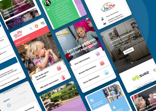 Villa Pardoes webdesign