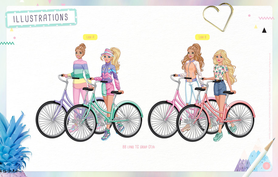Style Guide Barbie - Lands