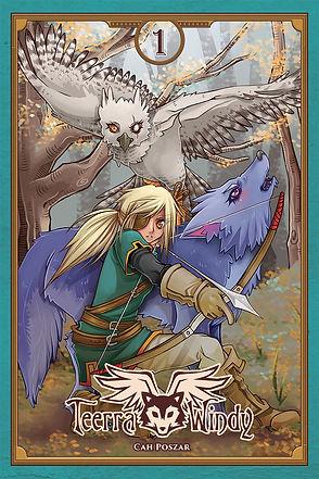 Capa do manga Teerra & Windy vol1