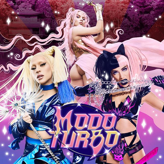 Capa do album Modo Turbo, da Luisa Sonza