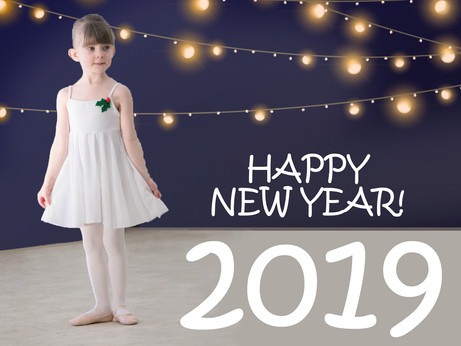 Here's to 2019! January News