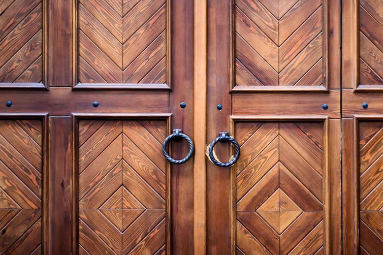 RUSTIC FIR DOORS