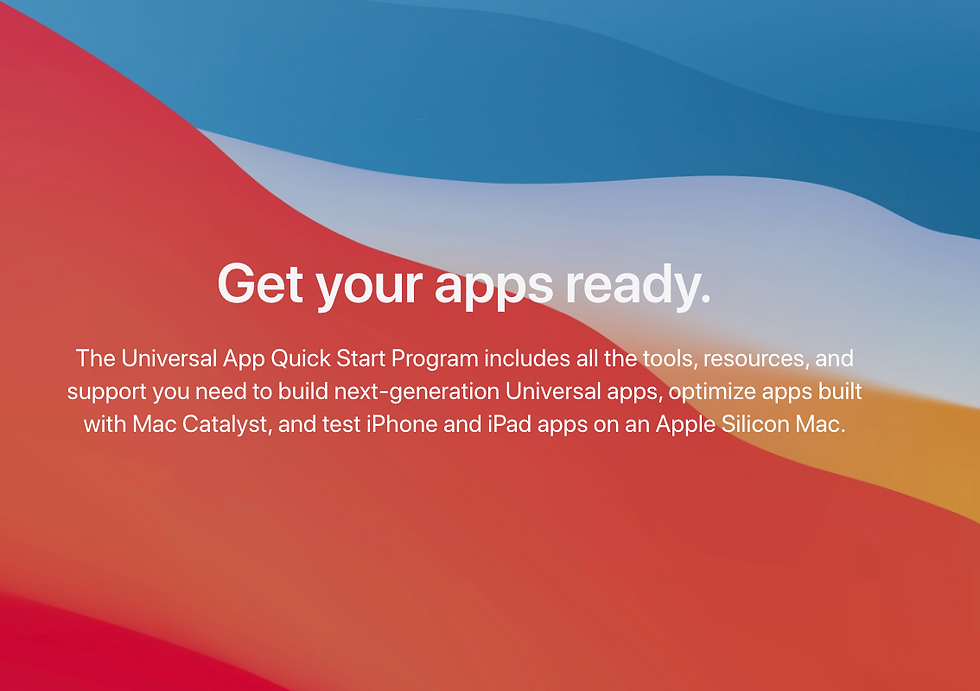 universal-app-quick-start-program