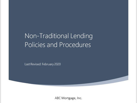 Firstline Announces Newly Updated Lender and Broker Policies and Procedures