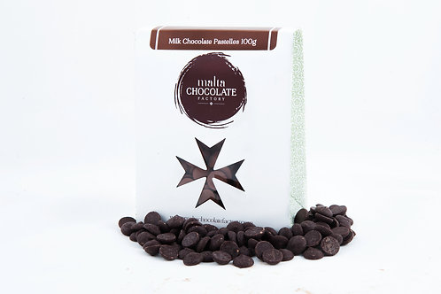 100g Dark Chocolate Pastelles