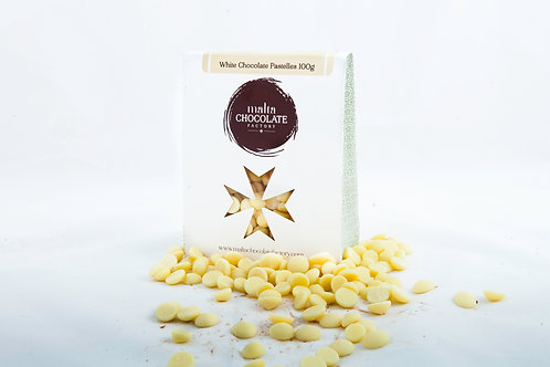100g White Chocolate Pastelles