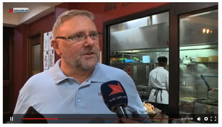 TVM with prime time feature about the Malta Chocolate Factory!