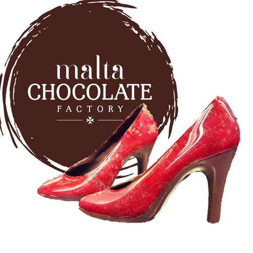 Easter gifts malta chocolate factory bugibba pretty princess chocolate high heel shoes negle Gallery