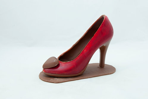 Pretty Princess Chocolate High Heel Shoes