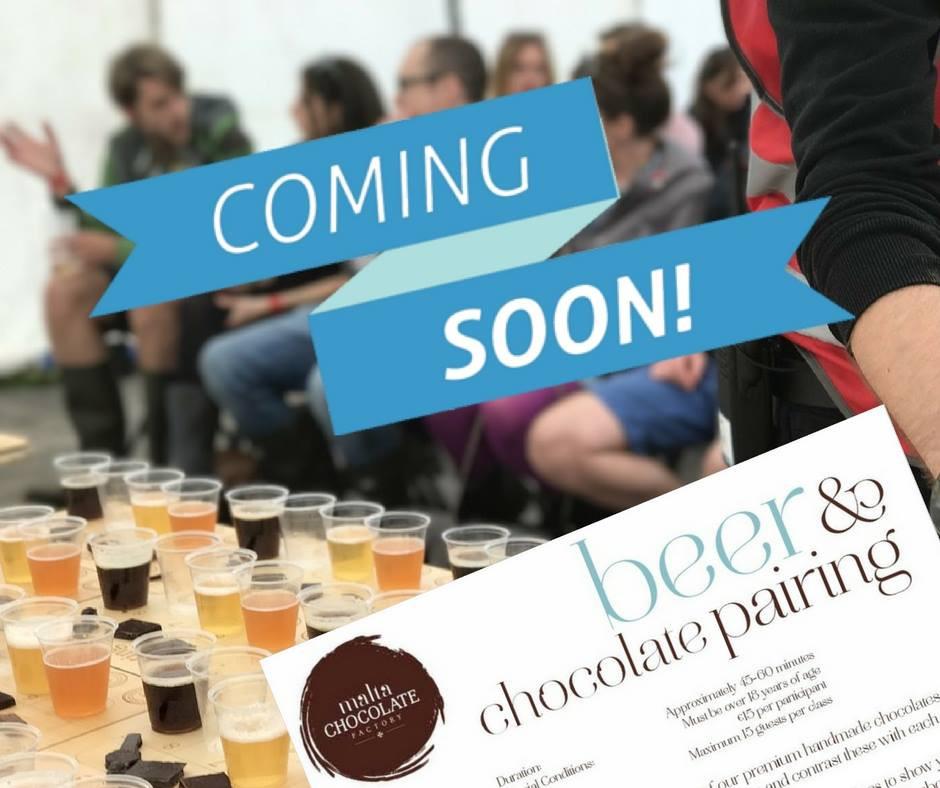 Beer & Chocolate Pairing... COMING SOON!