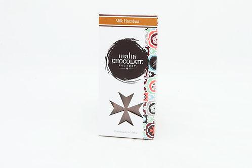 100g Milk Chocolate Hazelnut Bar