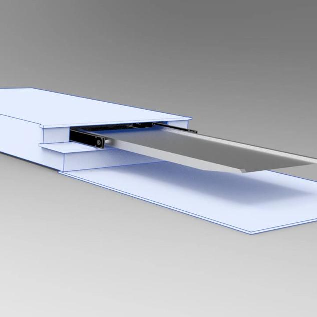 Wheelchair Pullout Ramp Mechanism - 2.53