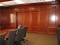 BOARDROOM - PASSTHROUGH DOORS CLOSED