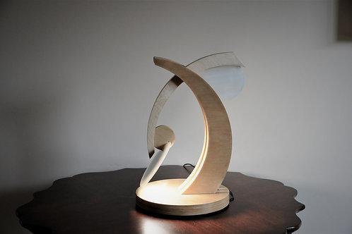 ERIC LIGHT - OLED DESK LAMP - WHISPY WHITE SCULPTURE
