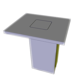 MICROPHONE LIFT FOR DESK OR TABLE