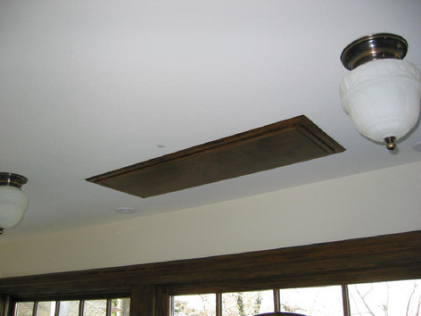 CEILING MOUNT TV DROP DOWN - RAISED