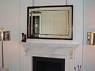 TV BEHIND MIRROR MECHANISM