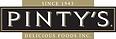 avsvoice.com Pinty's Foods. Pinty's black and gold logo