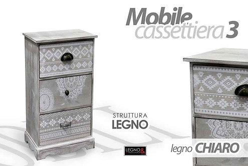 Cassettiera 3 cassetti Cod.742705