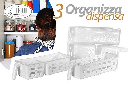 Set organizza dispensa cod.748011