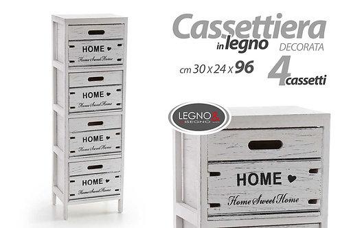 Cassettiera 4 cassetti Cod.788000