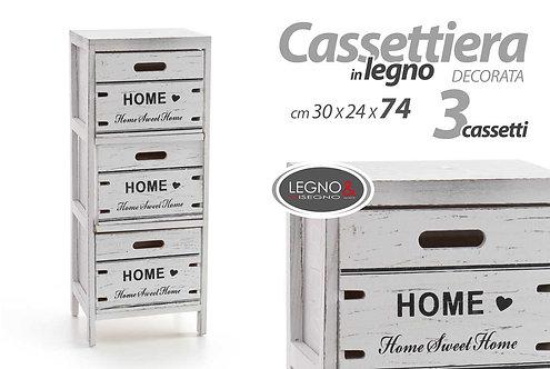 Cassettiera 3 cassetti Cod.787997