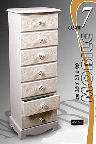Mobile 7 cassetti cod.514531