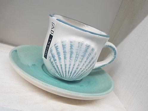 Set 4 tazzine ceramica caffe cod. 548312