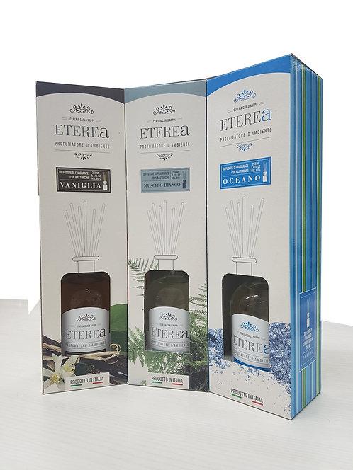 Diffusore di fragranze con bastoncini ml.250
