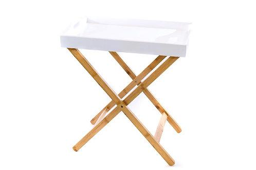 Tavolino in legno e bamboo cod.166033