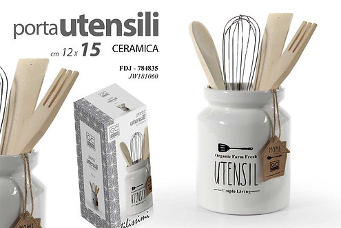 Porta utensili in ceramica cod.748835