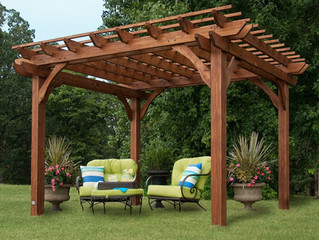 What a pergola can do for you and your deck/porch