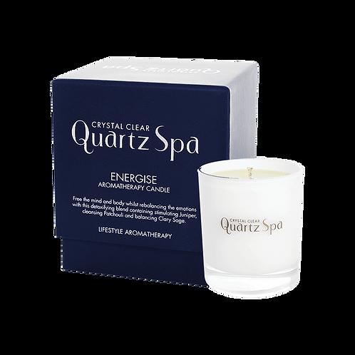 Quartz Spa Energise Aromatherapy Candle